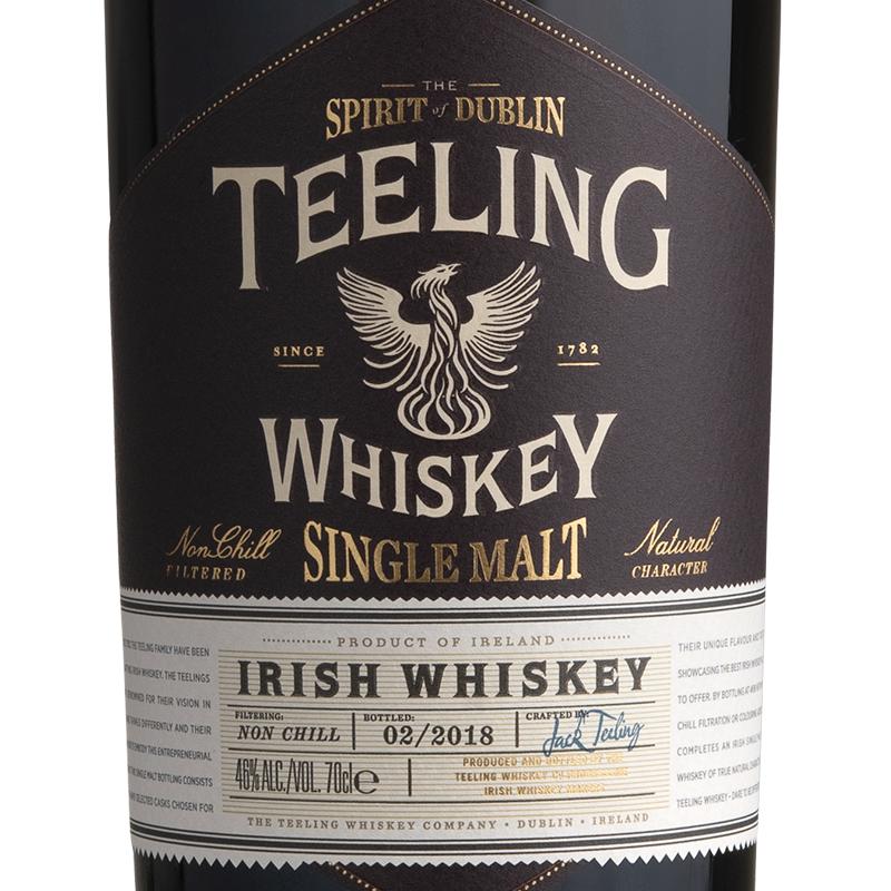 Whisky Spirit of Dublin Teeling Single Malt