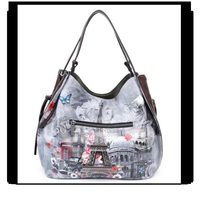 Bolsa Nicole Lee Paris in Fall Hobo Bag