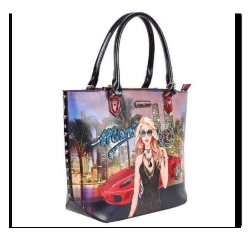 Bolsa Nicole Lee Miami Night Tote Bag