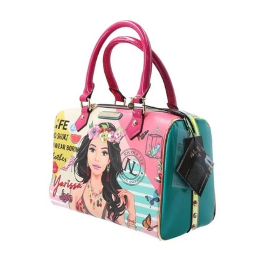 Bolsa Nicole Lee Yarissa Boston Bag